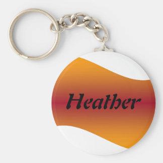Heather keychain