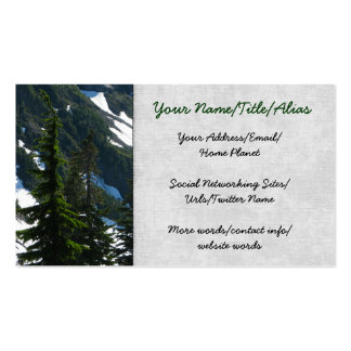 Heather Meadows Trees Business Cards