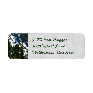 Heather Meadows Trees Label