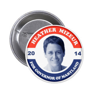 Heather Mizeur Retro Button