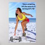 Heather Prescott Fitness prints Poster