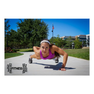 Heather Prescott Fitness prints Posters