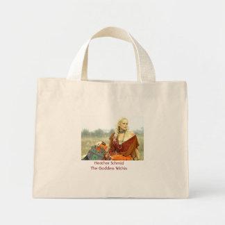 Heather Schmid The Goddess Within Mini Tote Bag