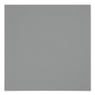 Heather Solid Color Poster