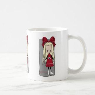 Heather the Cute Girl Coffee Mug