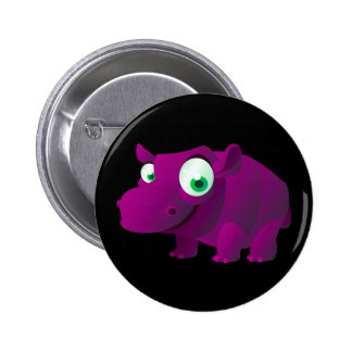 Heather The Hippopotamus Button