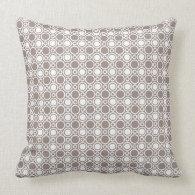 Heathered Polka Dot Pattern Pillow