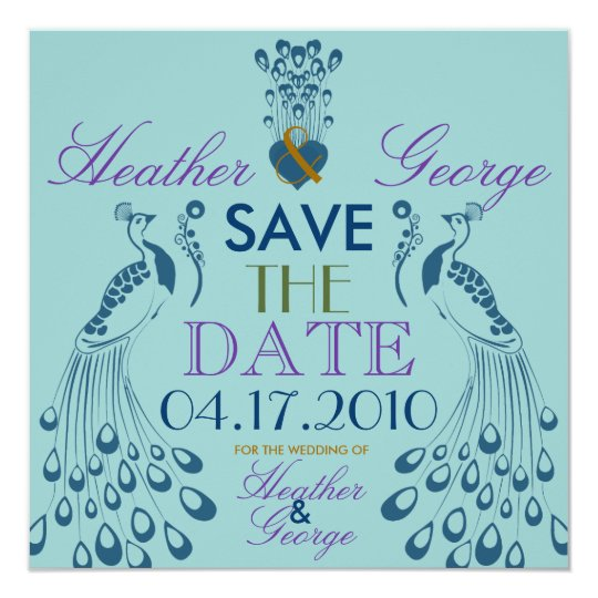 Heathers Save the Date Card