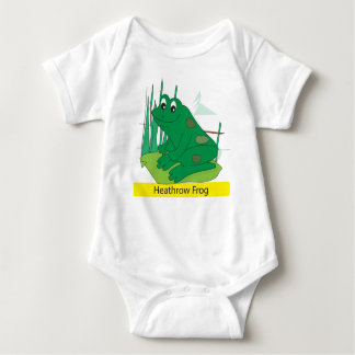 Heathrow Frog Baby Bodysuit