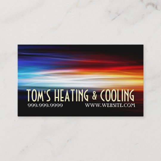 Heating and air conditioning cooling ac business card zazzle heating and air conditioning cooling ac business card colourmoves
