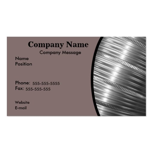 Heating and Cooling Double-Sided Standard Business Cards (Pack Of 100)