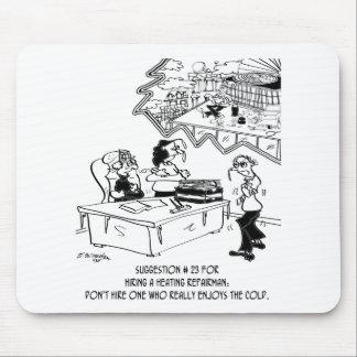 Heating Cartoon 8590 Mouse Pad