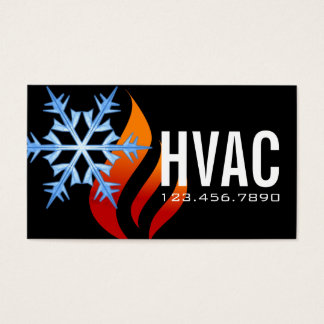 Air Conditioning Business Cards & Templates | Zazzle