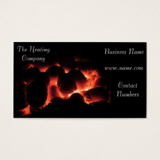 Heating & Cooling Business Card