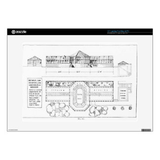 """Heating system for a Hothouse, Conservatory and Gr 15"""" Laptop Decal"""