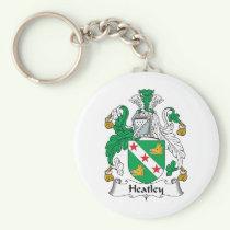 Heatley Family Crest Keychain