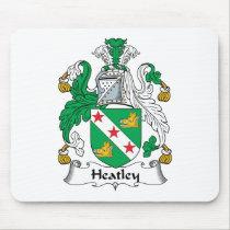Heatley Family Crest Mousepad