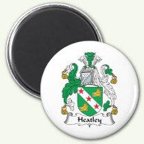 Heatley Family Crest Magnet