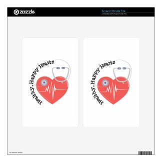 Heatlty Hearts Kindle Fire Skin