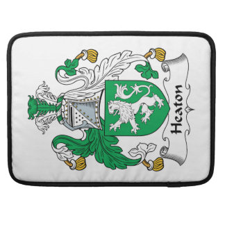 Heaton Family Crest MacBook Pro Sleeve