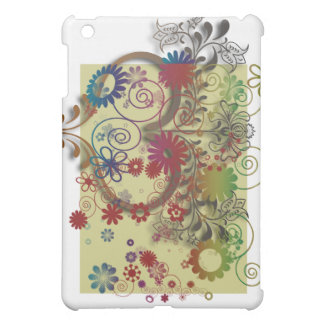 heats and flowers iPad mini cases
