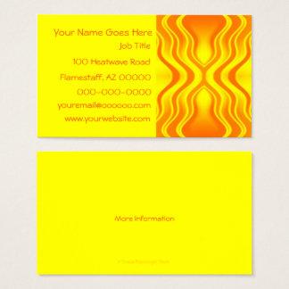 Heatwaves Business Card