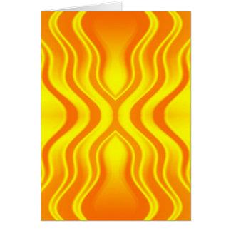 Heatwaves Card