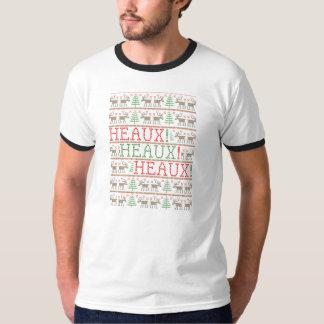 Heaux! Heaux! Heaux! Ugly Christmas Sweater Tees
