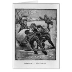Heave Away! Card at Zazzle