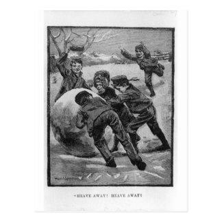 Heave Away! Victorian Christmas Postcards