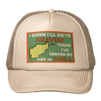 Heaven Afghanistan Trucker Hat