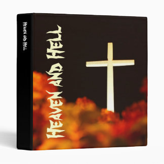 Heaven and Hell 3 Ring Binder