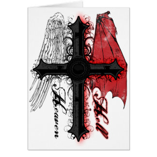Heaven and Hell Card