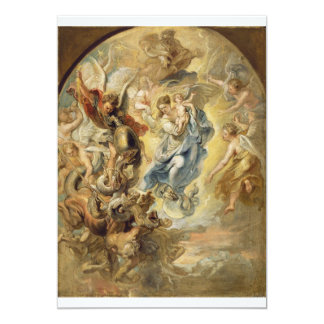 Heaven and Hell Custom Invitations