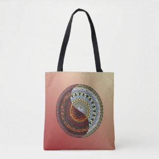 Heaven and Hell Mandala All-Over-Print Bag
