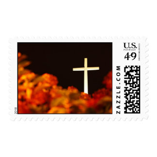 Heaven and Hell Postage Stamp