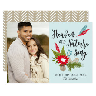 Heaven and Nature Sing | Photo Card at Zazzle