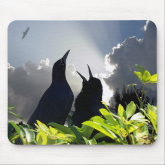 Heaven and nature sing song birds mousepad photo