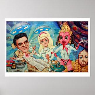 Heaven art print poster