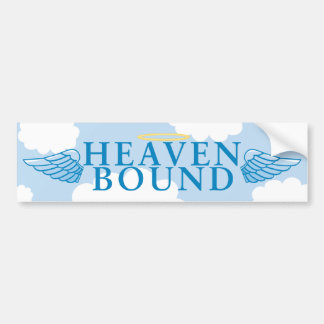 Heaven Bound Car Bumper Sticker