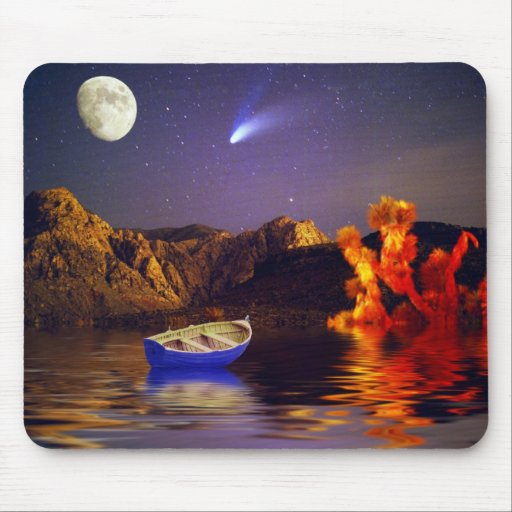 Heaven Bound Mouse Pad