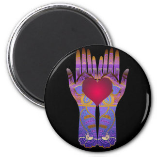 Heaven Hands Dark Magnet