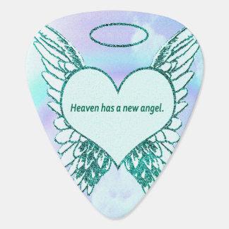 Heaven has a New Angel Guitar Pick