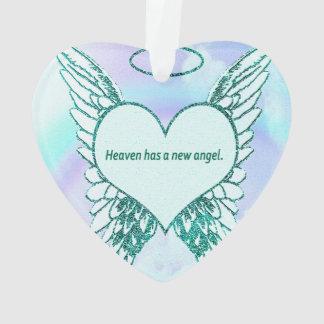 Heaven has a New Angel Ornament