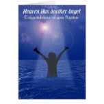 HEAVEN HAS ANOTHER ANGEL (Female) Greeting Cards