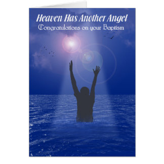 HEAVEN HAS ANOTHER ANGEL (MALE) CARD