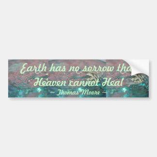 Heaven Heal bumper sticker Car Bumper Sticker