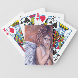 Heaven in my Hands Angel Design Bicycle Playing Cards