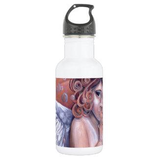 Heaven in my Hands Angel Design Water Bottle