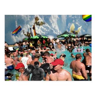 Heaven is a Bear Party Postcard